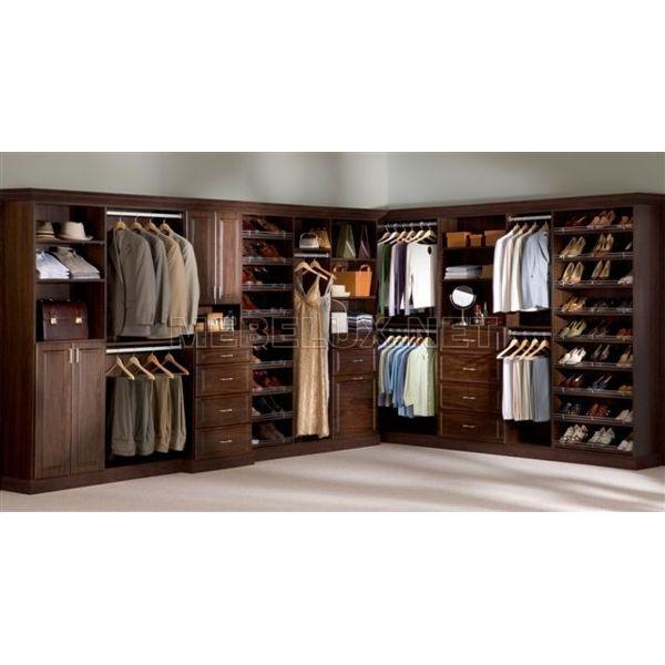"""Гардеробная 18 - гардеробные - каталог мебели - ооо """"мебелюк."""